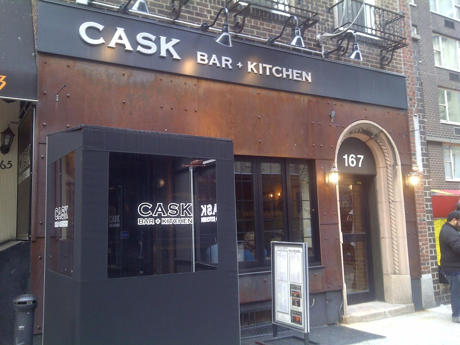 little ms. piggys: cask bar + kitchen
