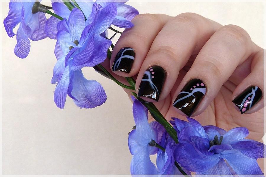 beautyecke nailart blogparade ready set polish abstrakte muster - Nailart Muster