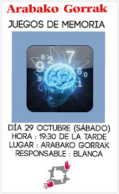 JUEGOS DE MEMORIA / 29 OCTUBRE