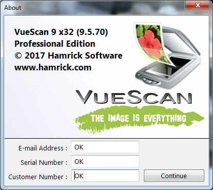 VueScan 9.5.74 Serial Key