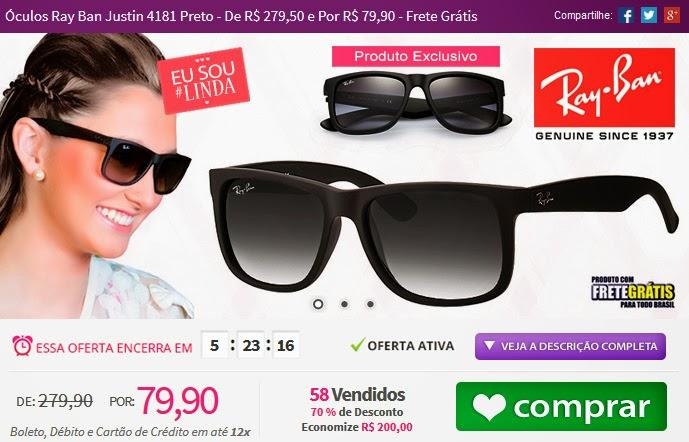 http://www.tpmdeofertas.com.br/Oferta-Oculos-Ray-Ban-Justin-4181-Preto---De-R-27950-e-Por-R-7990---Frete-Gratis-864.aspx