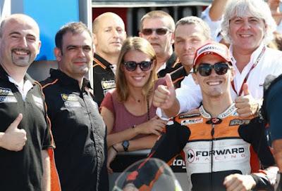 Forward Racing Resmi Tinggalkan MotoGP 2016, Bagaimana Nasib Baz?