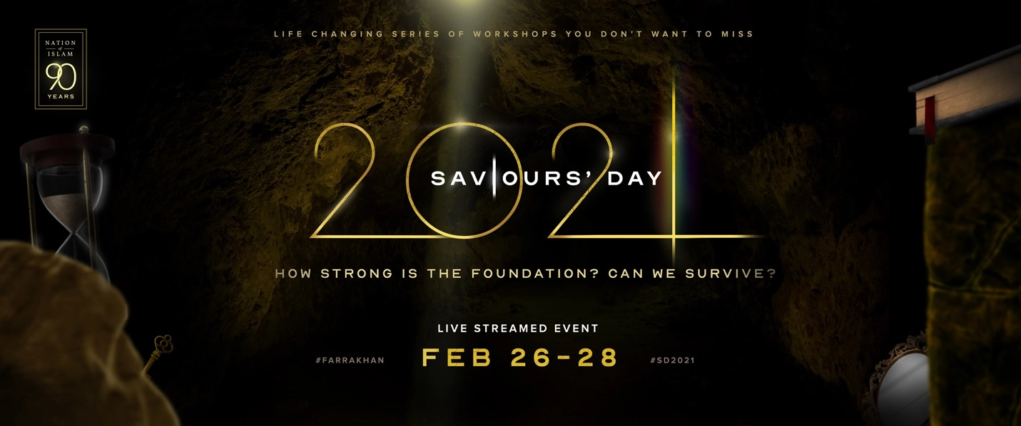 REGISTER for Saviours' Day 2021
