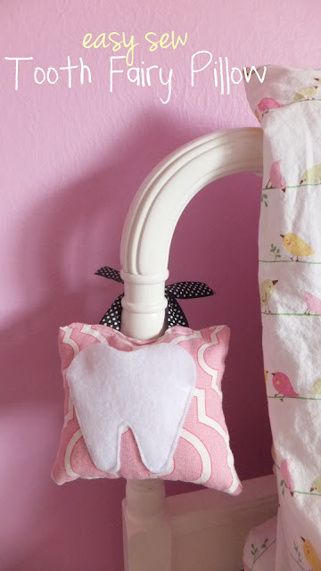 Tooth Fairy Pillow by Fresh Coat Of Paint