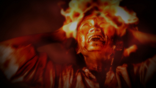 manusia di neraka