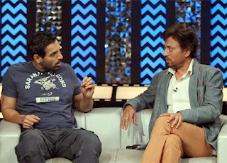 John Abraham and Irrfan Khan at The Front Row with Anupama Chopra