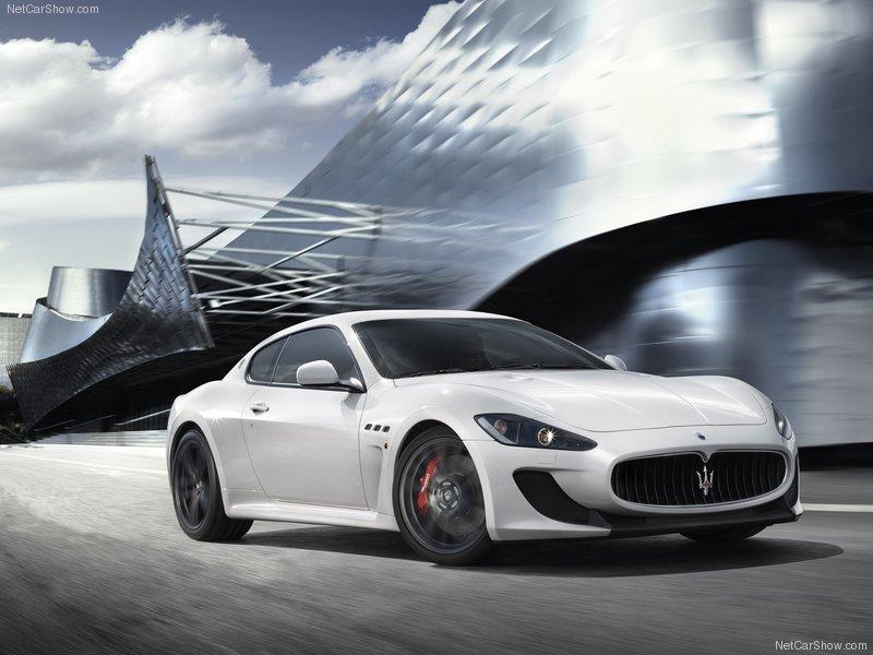 2012 new Maserati GranTurismo MC Stradale