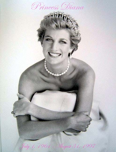 princess di hairstyles. princess diana funeral photos