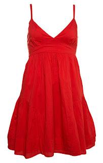 fotos de modelos de vestidos vermelhos