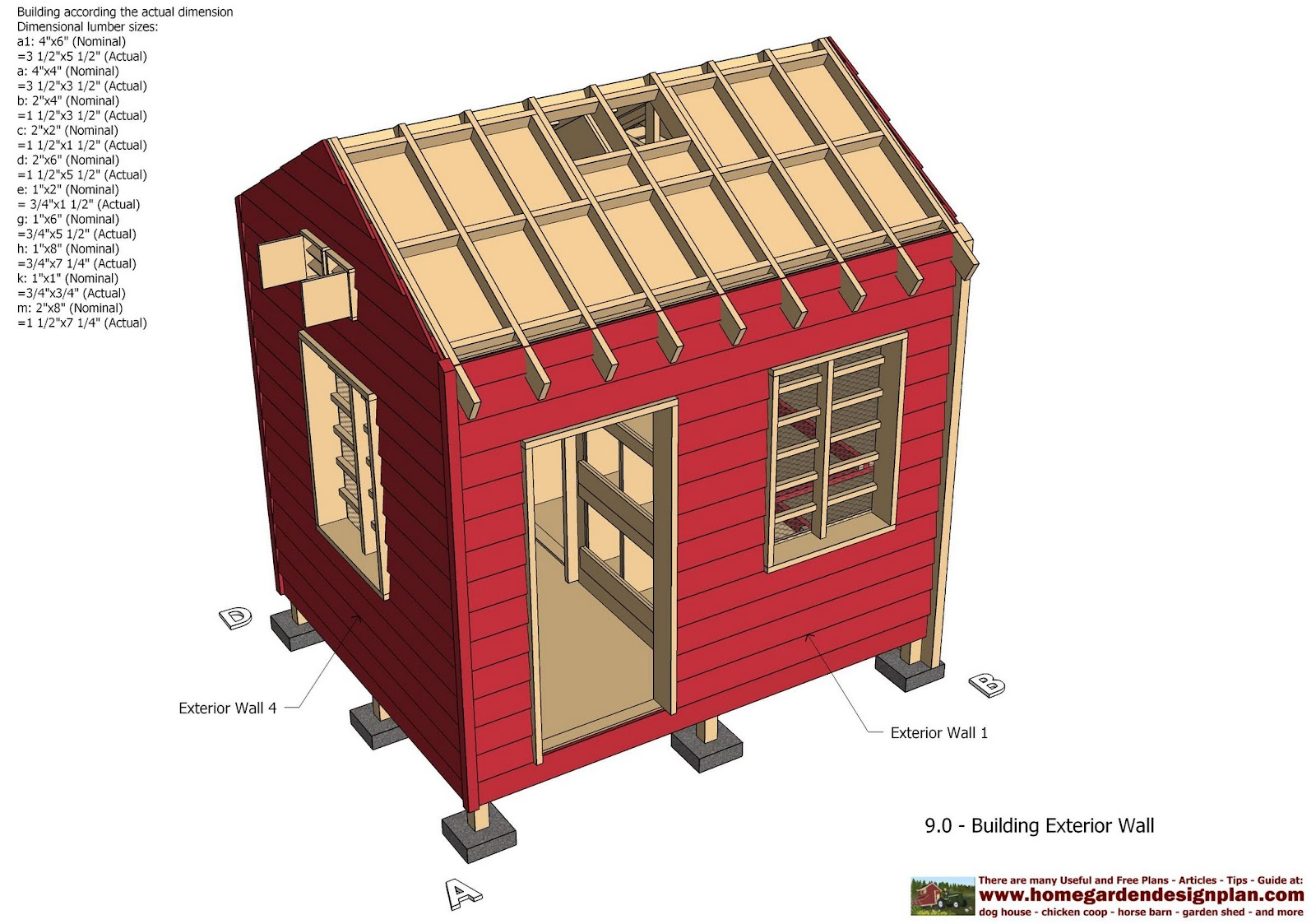 cb211 combo chicken coop garden shed plans chicken coop plans - Chicken Co Op Plans And Greenhouse