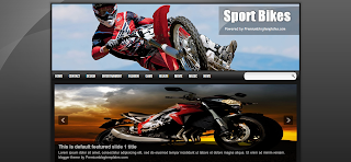 Sport Bikes Blogger Template is a Sport Related Blogger Template
