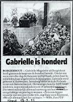 Gabrielle Magniette 1897-1998 feestelijk gevierd met haar familie