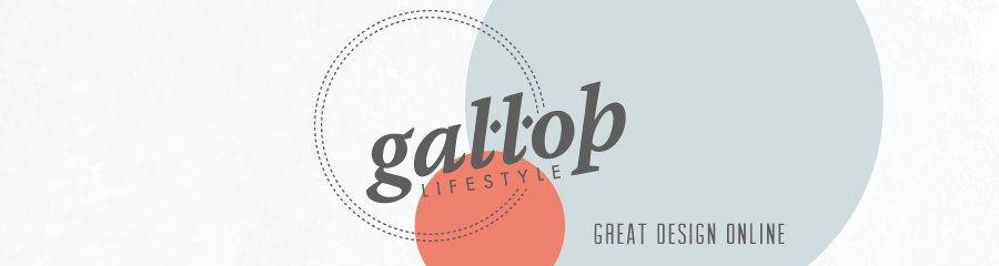 Gallop Lifestyle - Great design, online.