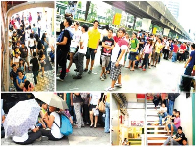 Tujuh Jam Berbaris Beli Burger Di Manila