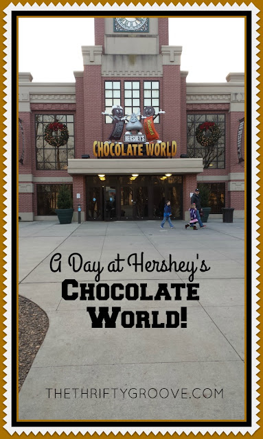 A fun day at Hersheys chocolate world. A had such a fun time taking the chocolate tour and just checking the place out!