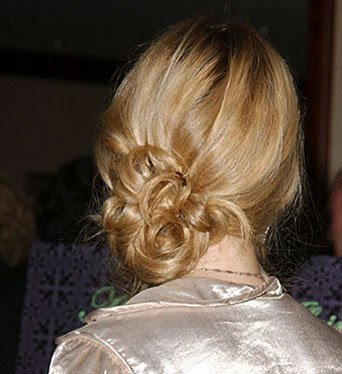 messy side bun hairstyles. Messy Side Bun