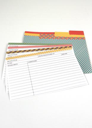 archivadores de recetas imprimibles gratis free printables recipe cards