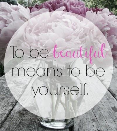 Be Beautiful.