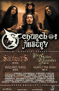 Church of Misery announce 2013 US Tour