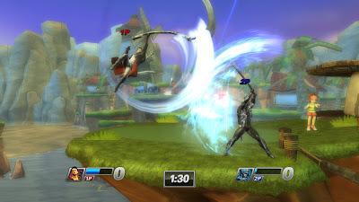 Raiden In PlayStation All-Stars Battle Royale