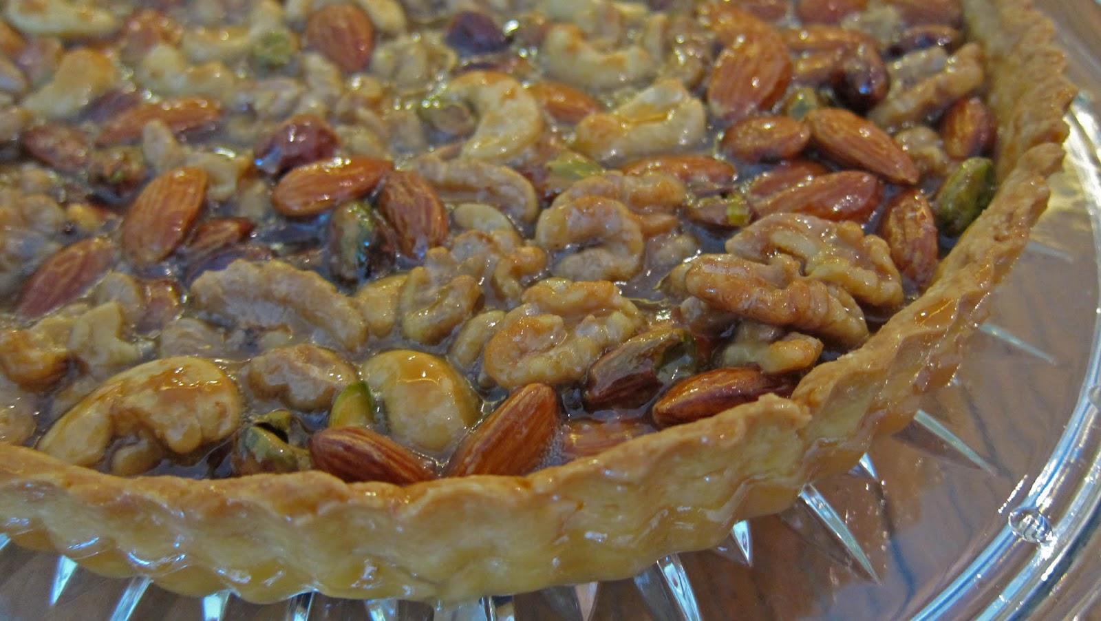 Pastry School Diaries: Caramel Nut Tart