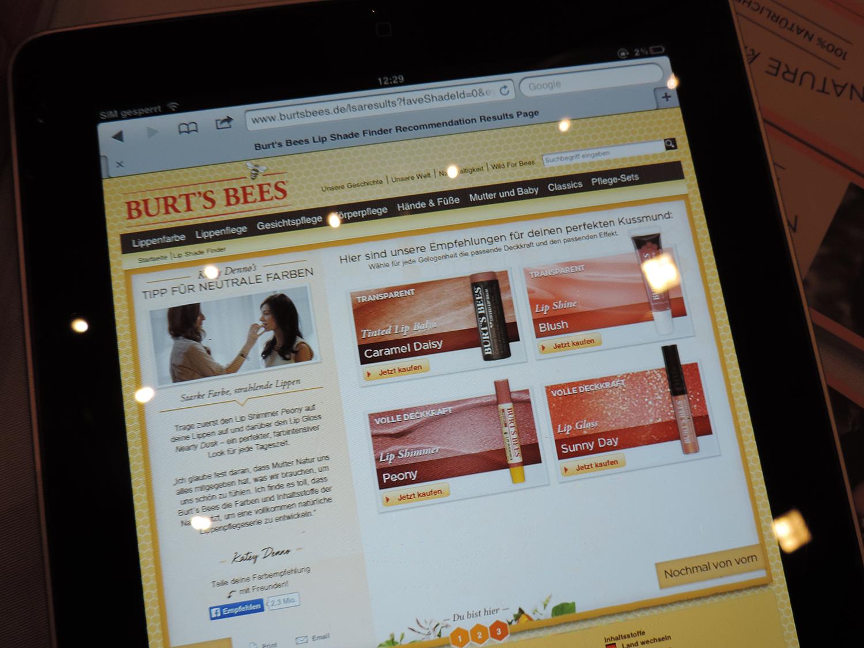 beautypress bloggerevent frankfurt andysparkles burt's bees