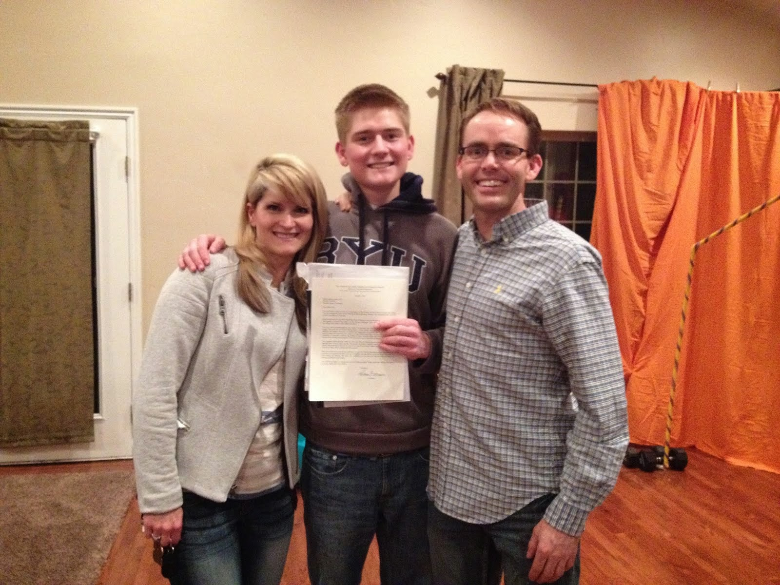 Mission Call Opening