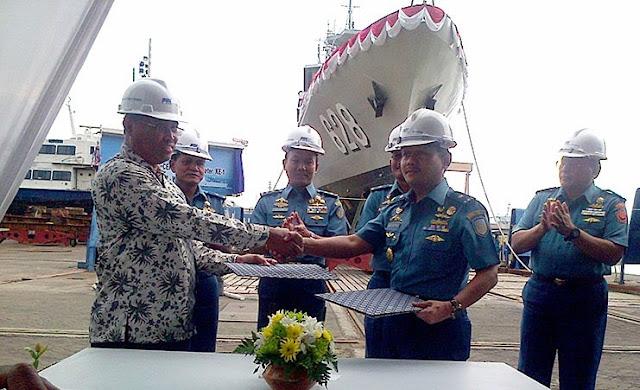 PT. PAL Luncurkan Kapal Cepat Rudal 60 Meter (KCR-60)