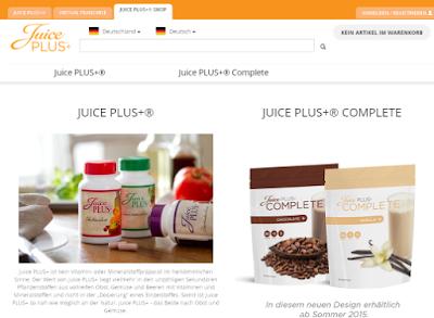 Hier können Sie Juice Plus bestellen