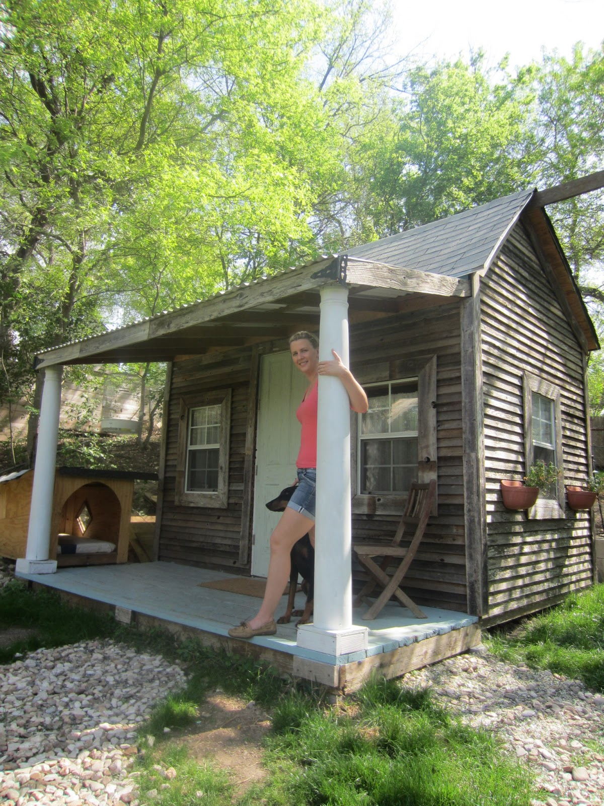 Jennifer francis 39 tiny house cabin for for Small cabins and cottages