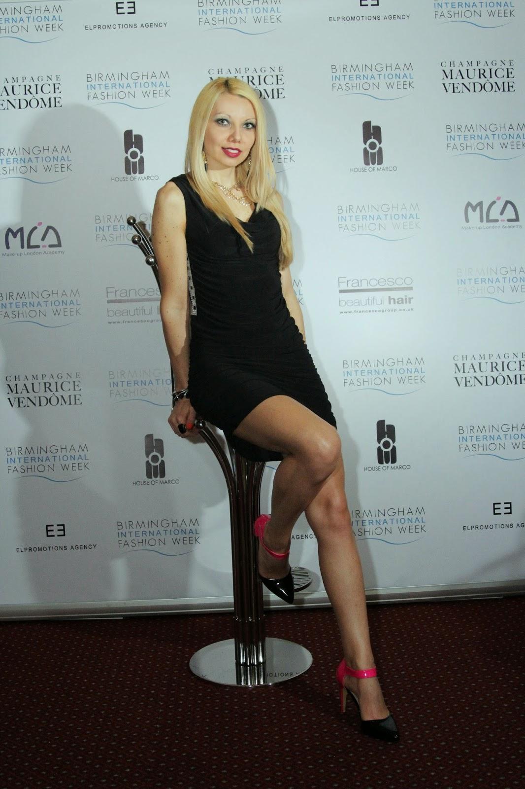 Designer Khloe Nova at BHMFW 2014