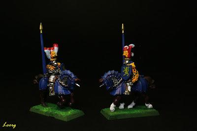 Modelo 1 de los soldados Caballeros Pantera