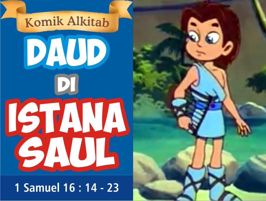 Daud di Istana Saul