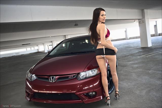 Honda Civic Si, fotki, panny i auta