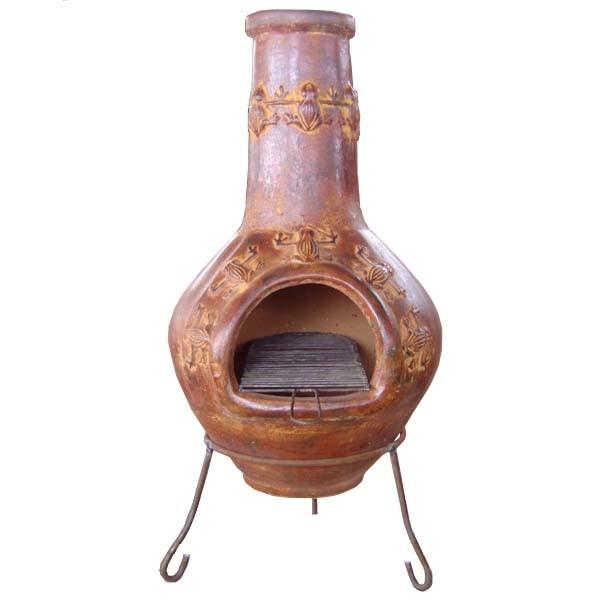 merveilleux Du0027origine pré hispanique, le brasero mexicain, appelé aussi cheminée  mexicaine ou poêle mexicain est du0027abord un appareil de chauffage de  terrasse toujours ...