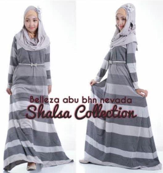 Gambar Baju Gamis Tren 2015 15 Gambar Baju Gamis Muslim