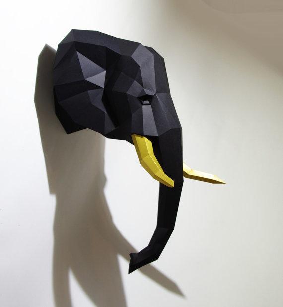 paper crats-trophy-3d origami