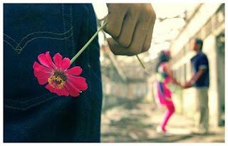 Gambar Wanita Pria Mengungkapkan Cinta