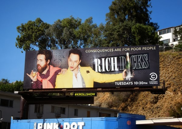Kroll Show Rich Dicks season 2 billboard