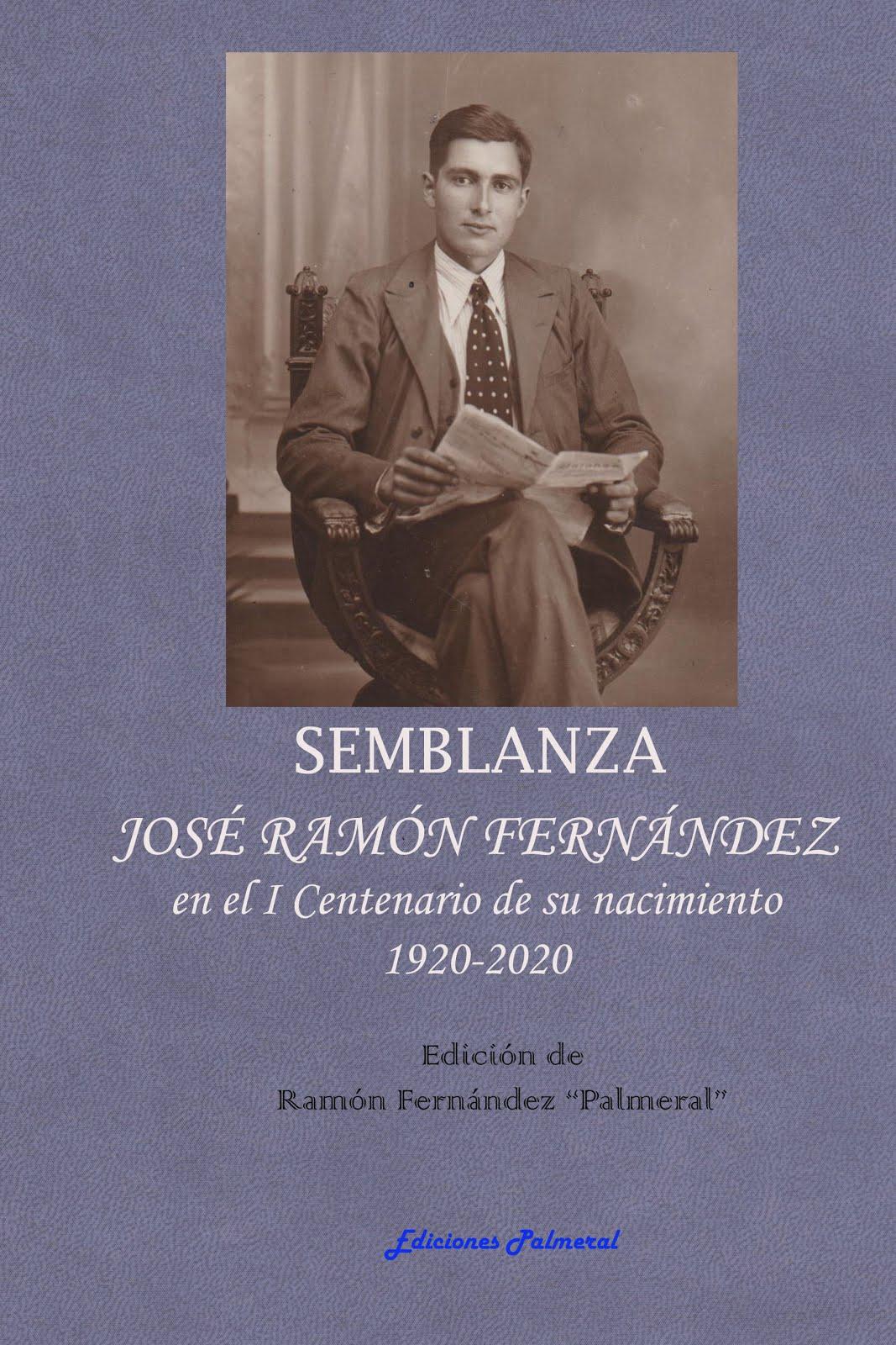 Semblaza de poeta José Ramón Fernández