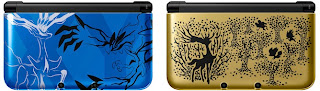 3DS XL Xerneas Yveltal Blue y Premium Gold