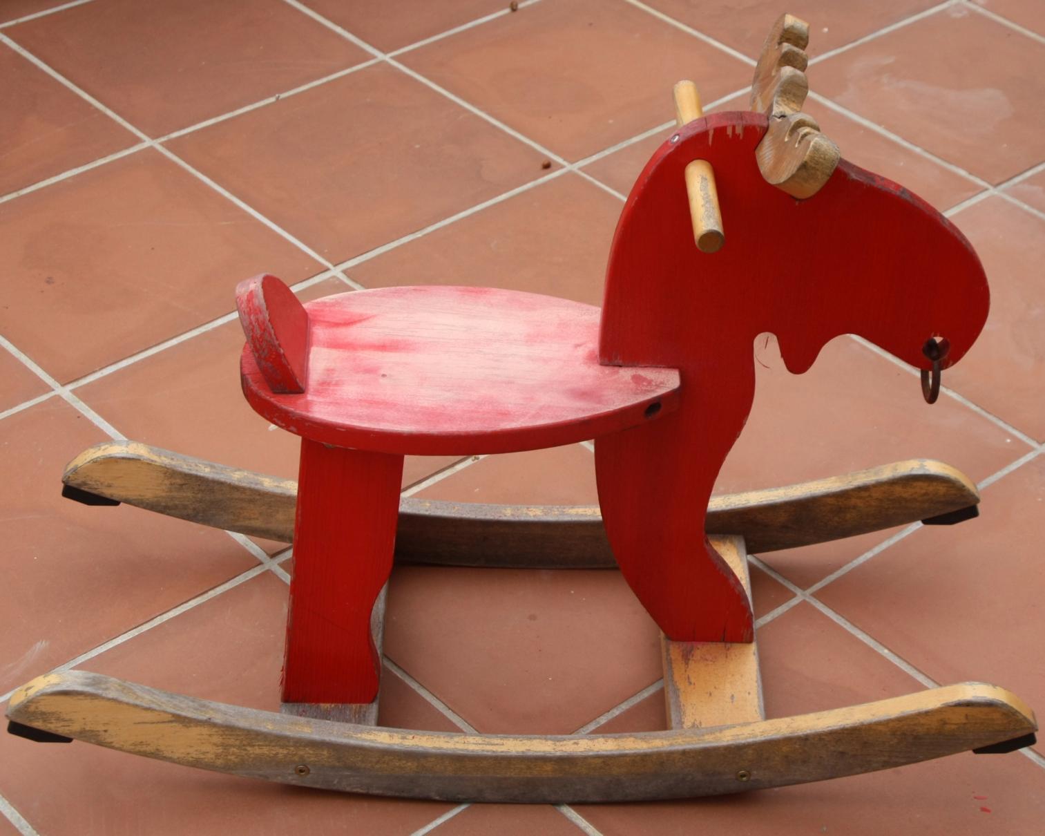 D a tras d a un reno para nora for Imagenes de reciclaje de madera