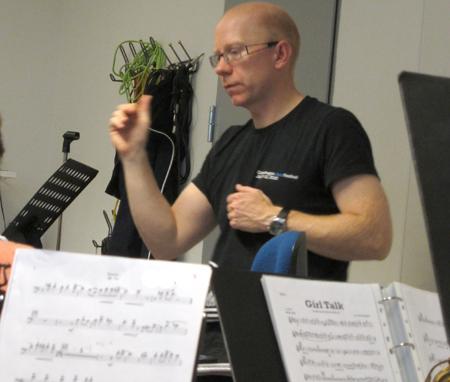 Mads Bærentzen gjorde flot figur for det nordjyske big band
