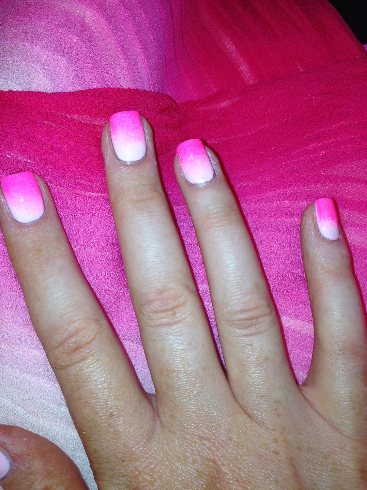 NailsByNumbers: NOTD! Ombre Nails and Actuary Ball
