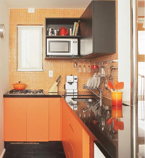 Espero que vocês tenham gostado das idéias para cozinhas pequenas!