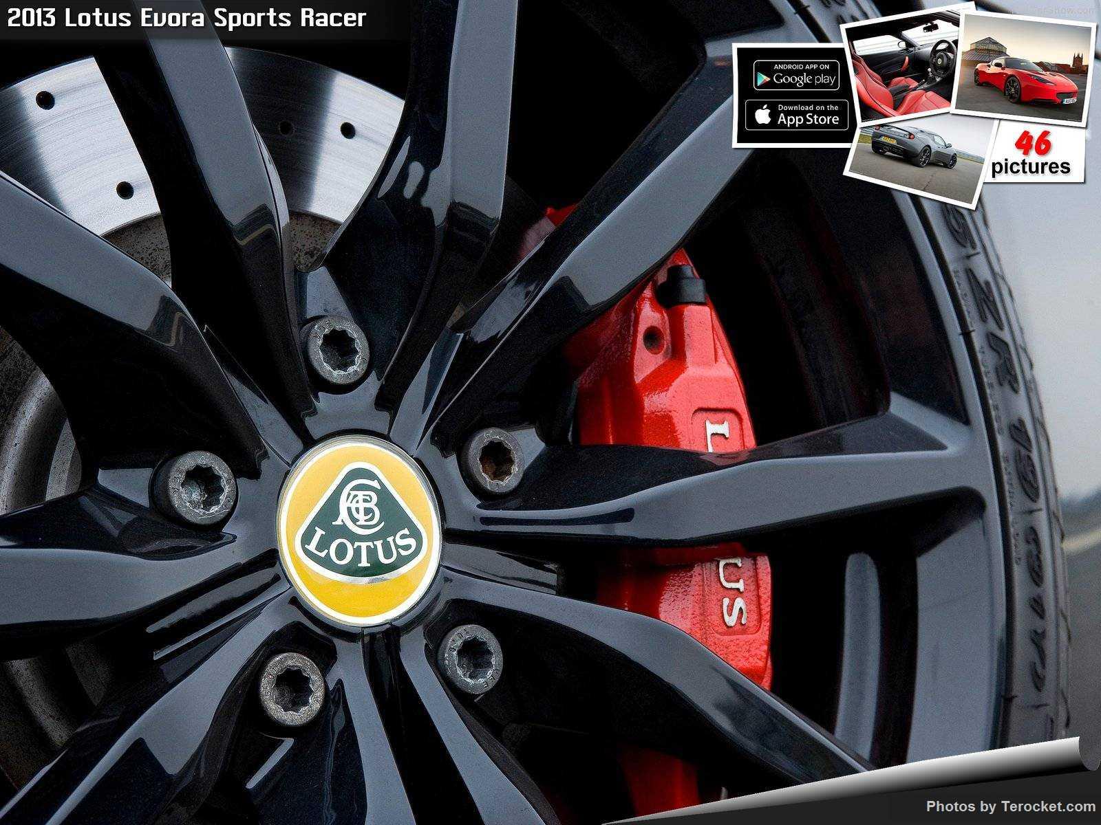 Hình ảnh siêu xe Lotus Evora Sports Racer 2013 & nội ngoại thất