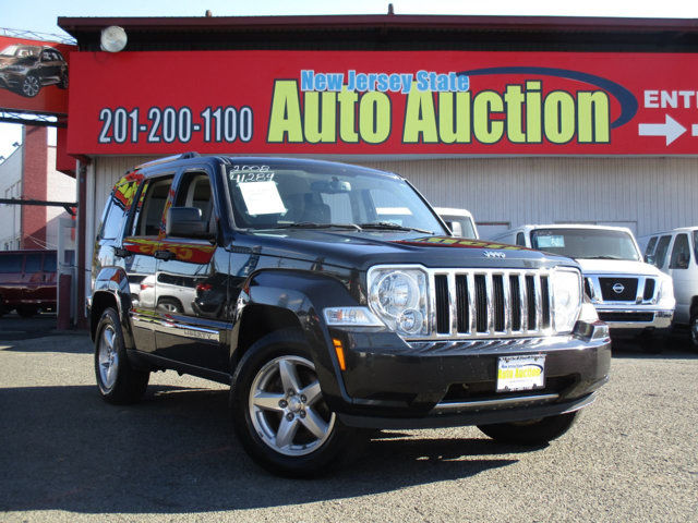 Nj Auto Auction >> Used One Owner 2008 Jeep Liberty 4wd 4dr Limited Serving Jersey