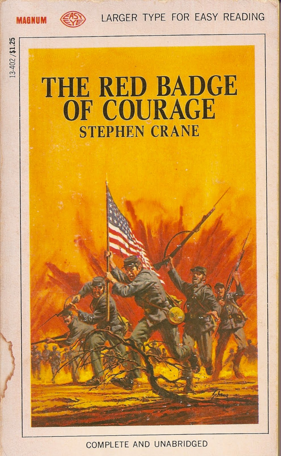 stephen cranes literary techniques in the red badge of courage