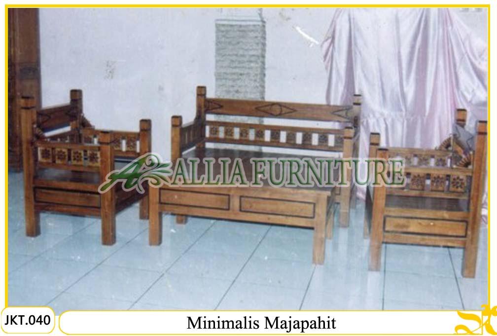 set kursi tamu meja ukiran majapahit allia furniture