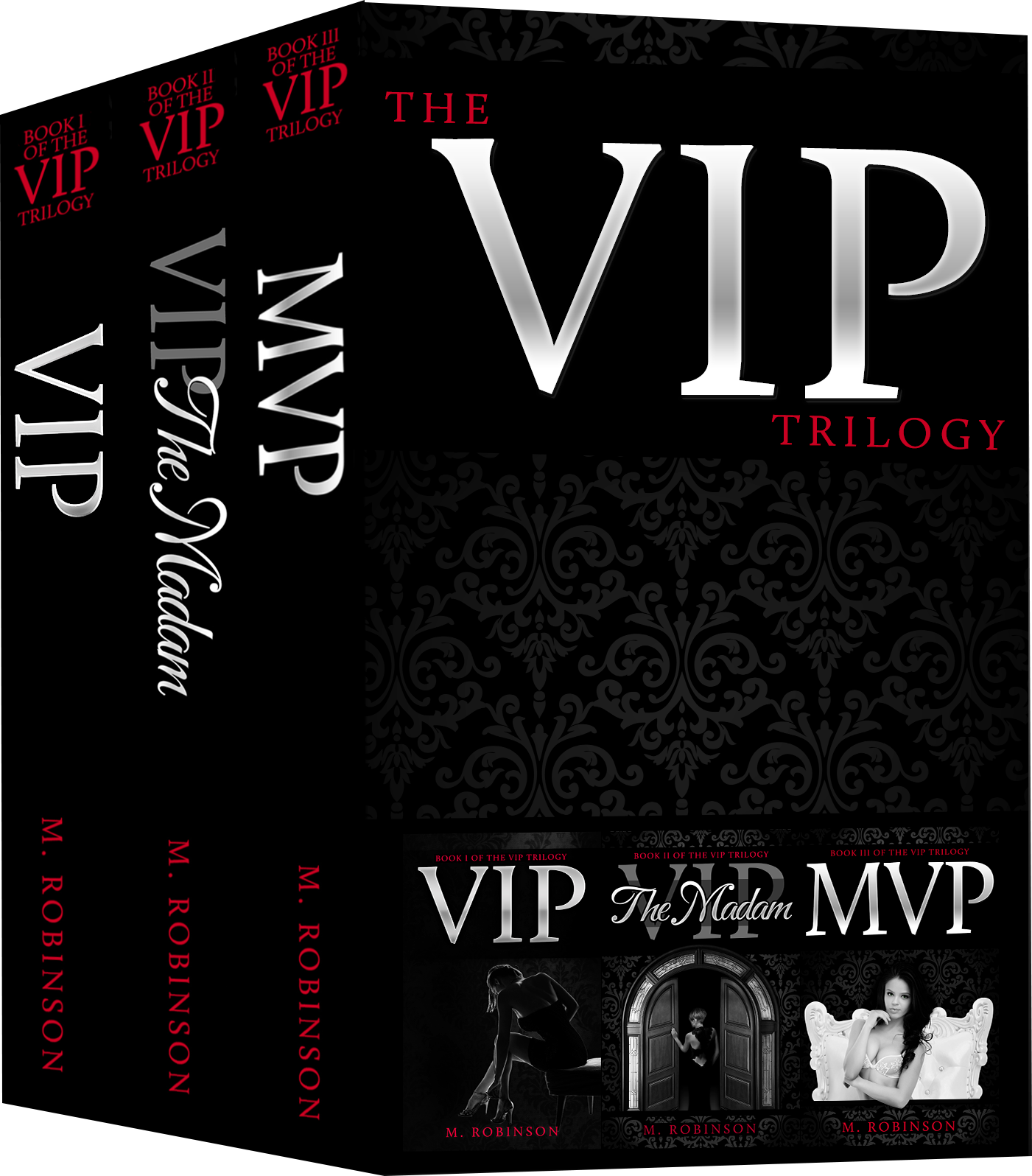 VIP Triology by M. Robinson Book Cover